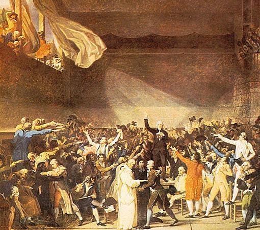 La asamblea nacional anuncio el fin del feudalismo en Francia.