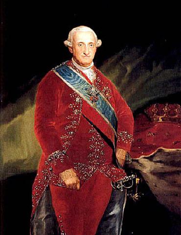 Reinado Carlos IV