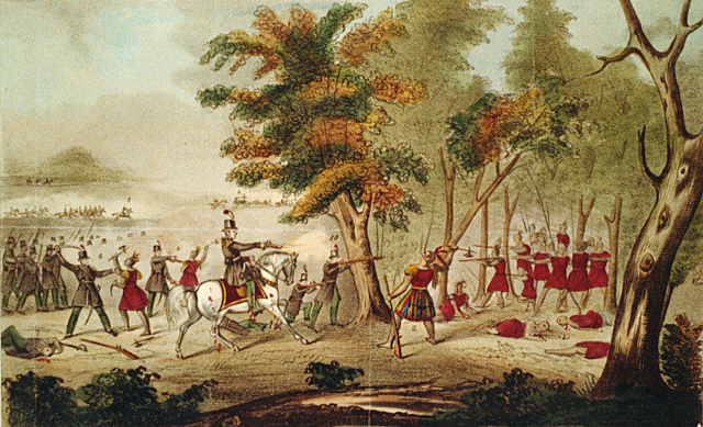 Battle of the Thames (Native Americans)