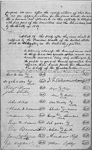 Treaty of New Echota (Native Americans)