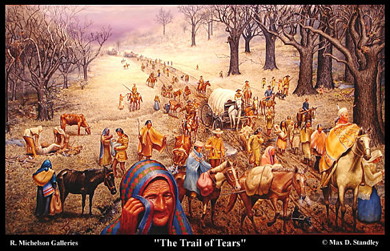 Trail of Tears (Native Americans)