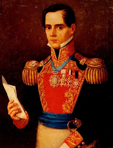 Antonio López de Santa Anna elected President of Mexico (Texas)