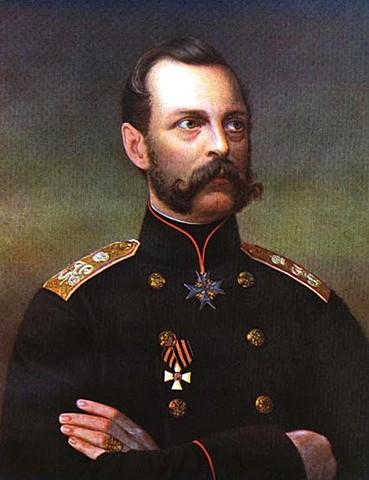 Inicio del reinado del Zar Alejandro II.