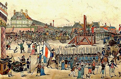 Muerte de Robespierre