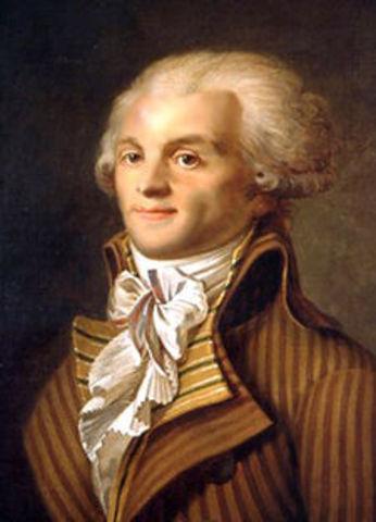 Nombramiento de Robespierre como quinto diputado del Tercer Estado