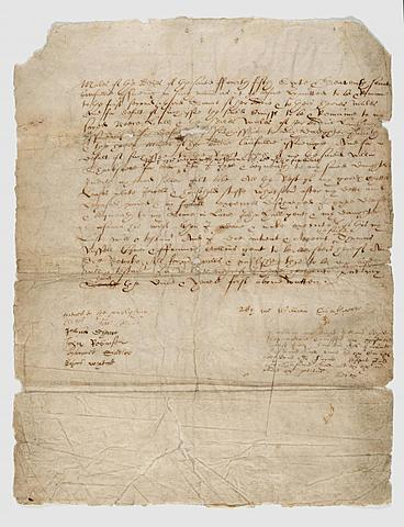 William Shakespeare Drafts His Will
