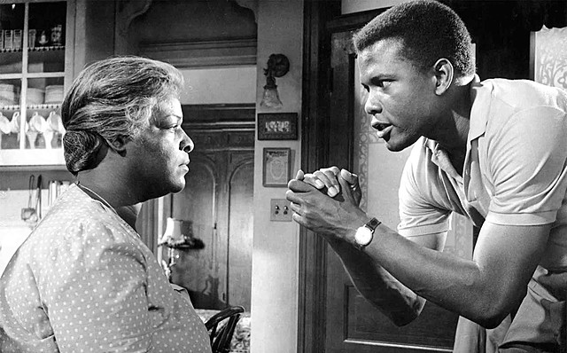 Lorraine Hansberry's A Raisin in the Sun appears on Broadway