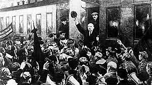El regreso de Lenin