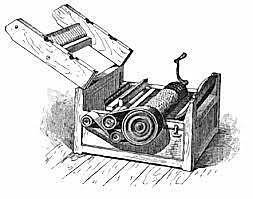 Desmotadora de algodón