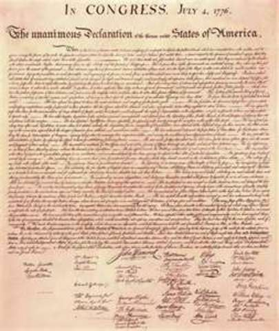 Decleration of Independence