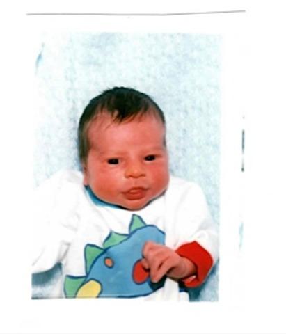 My son, Cole was born