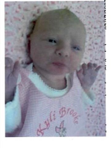Kyli-Addison was born