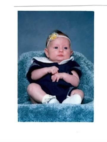 Randi, Mine and Sean's first baby