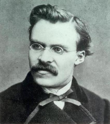 Friedrich Nietzsche (1844 %u2013 1900)