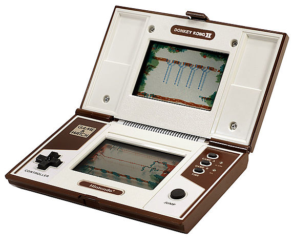 First Portable Console: Nintendo Game and Watch