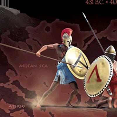Ο Πελοποννησιακός Πόλεμος timeline