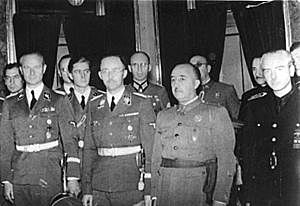 España neutral en la Guerra Mundial.