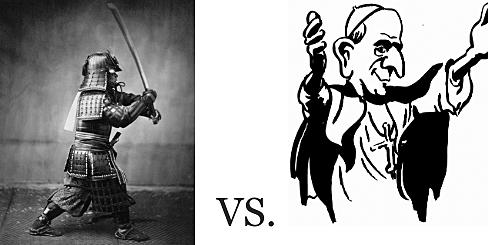 Samurai vs Priest