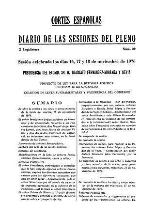 Dimisión de Arrese tras el fracaso de su proyecto constitucional.