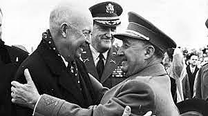 Visita del Presidente de los EE.UU., Eisenhower.