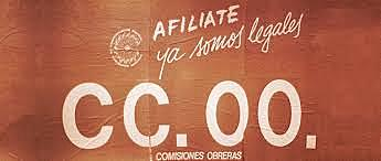 Ilegalización de Comisiones Obreras.