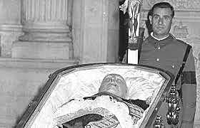 Enfermedad, agonía y muerte de Franco.