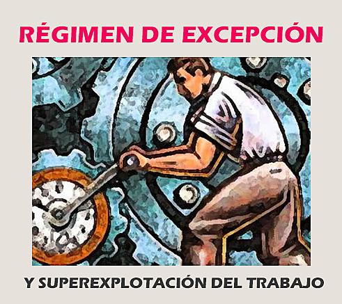 Estado de excepción.