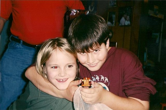Hace once años que jugué con mi hermano mayor.