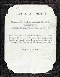 LEY DE CORTES.