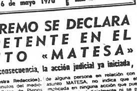 ESCÁNDALO MATESA.