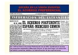 ACUERDO PREFERENCIAL CON EL MERCADO COMÚN.