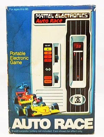 Auto Race Primer videojuego portátil - Por Mattel