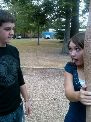 Hace cuatro meses que fui al parque con mi novio para el cumpleaños de mi primo... ¡Fue muy divertido!