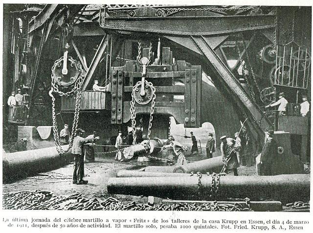 Krupp desarrolla un procesador para elaborar acero