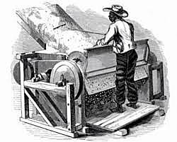 Desmontadora de algodón