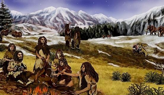 proceso de evolución, porque los seres humanos son básicamente los mismos con el pasar de las eras.