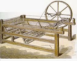 Primera maquina de hilar