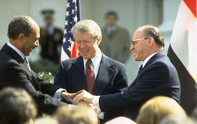 1978-1988 לאומי הסכם השלום עם מצרים