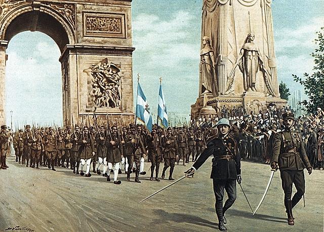 1968-1978 עולמי הפיכה צבאית ביוון