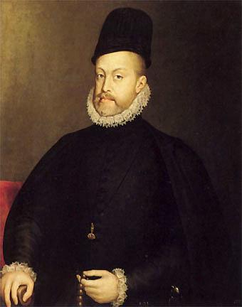 Comienzo del reinado de Felipe II