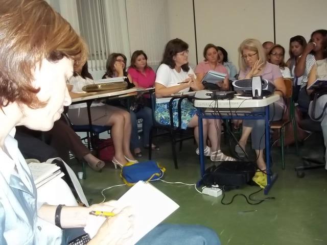 Reunião com diretoras do Mais Educação e Secretaria