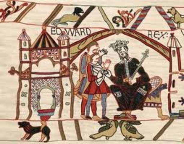 Edward the Confessor becomes King