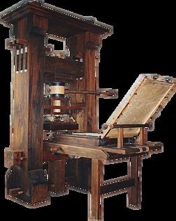 Gutenberg Printing Press invented