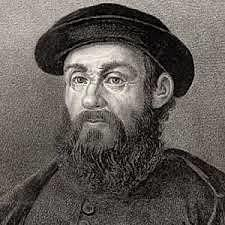 Ferdinand Magellan crosses the Pacific