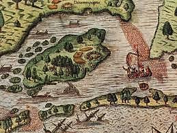 Roanoke colony founded