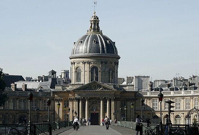 Работа в Парижской Академии наук