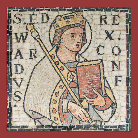 Edward the Confessor becomes King (A Saxon King)