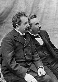 Louis and Augustine Lumiere
