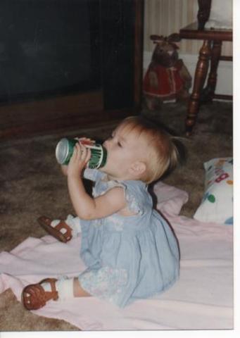 Hace catorce años que bebè mi primero Mountain Dew.