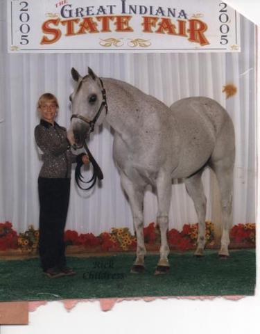Hace seis años que yo monstè mi caballo a la State Fair.